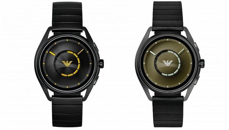 Умные часы Emporio Armani Connected 2018 типичны по своим параметрам, но выделяются дизайном
