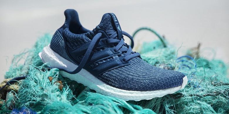 Adidas обязуется к 2024 году использовать только вторичный пластик