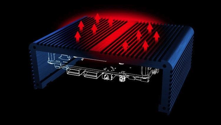 Корпус Akasa поможет создать бесшумную NUC-систему поколения Gemini Lake