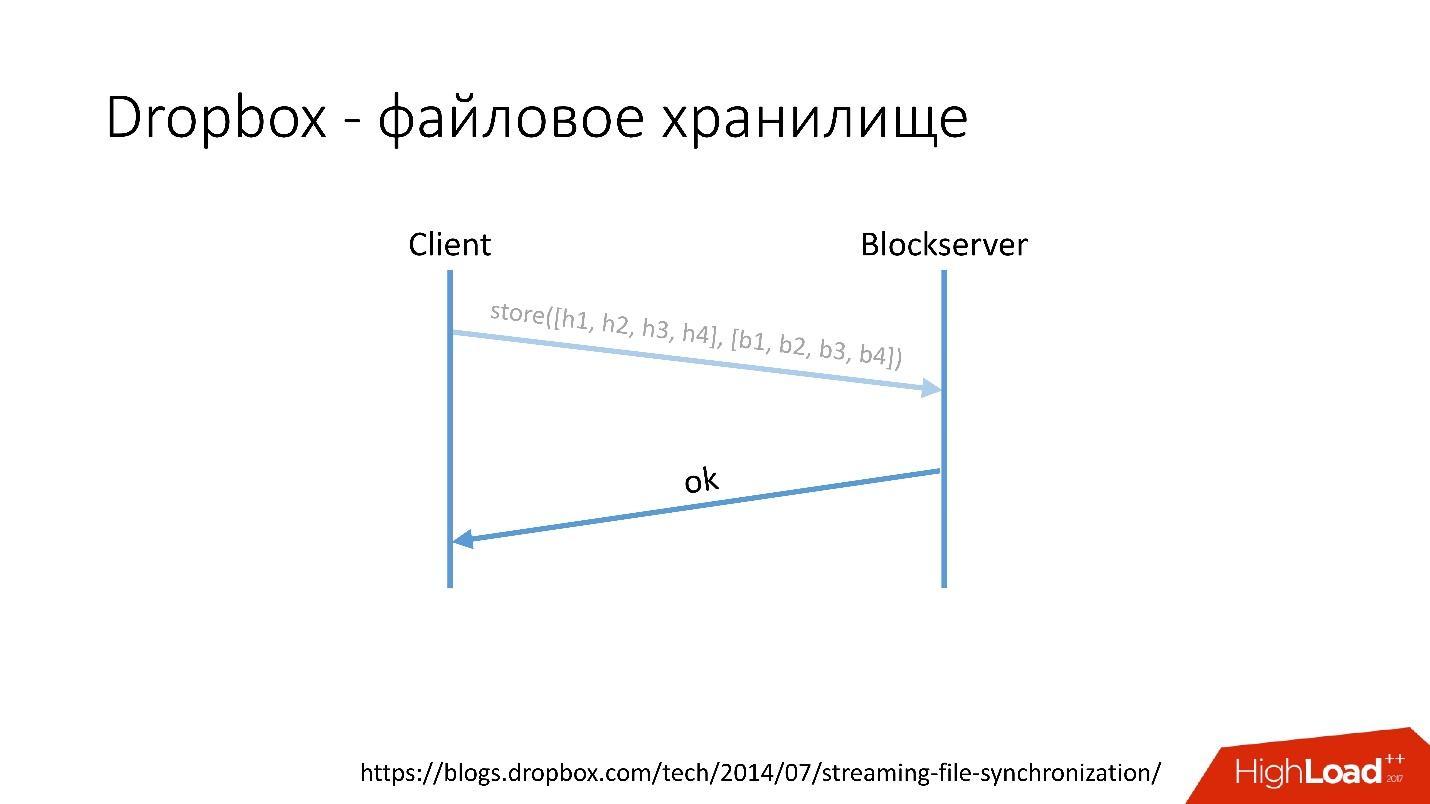Развитие баз данных в Dropbox. Путь от одной глобальной базы MySQL к тысячам серверов - 5