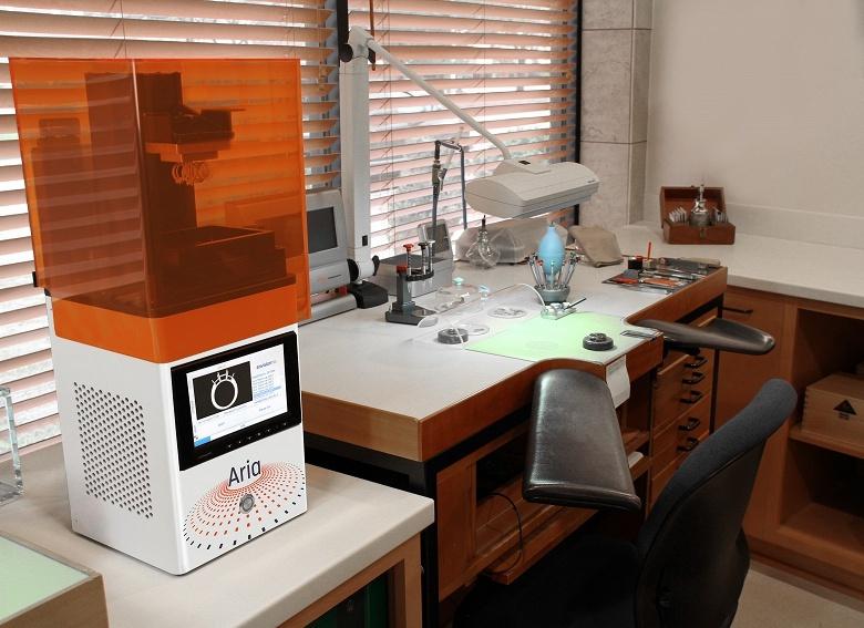 3D-принтер EnvisionTEC Aria подешевел на 1000 долларов и стал доступен для заказа онлайн