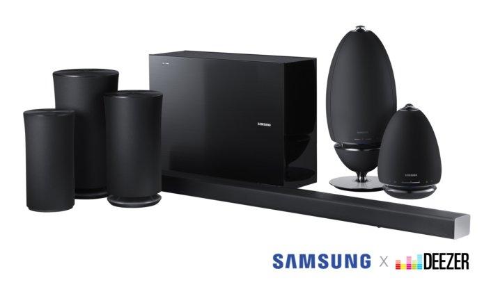 Samsung добавляет поддержку Deezer HiFi в некоторые саундбары и беспроводные колонки