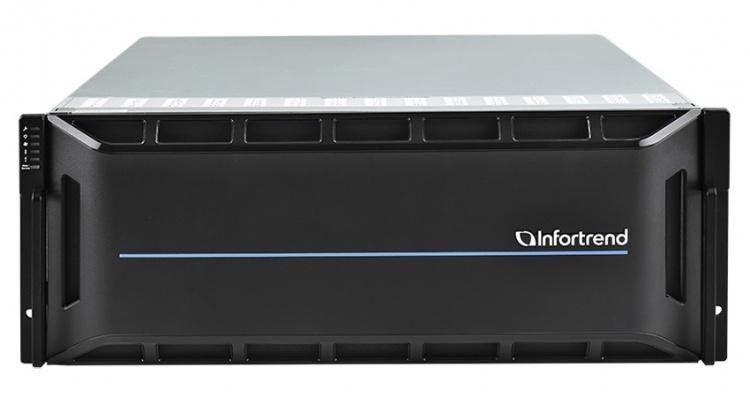 EonStor GS 5000 Series — мощное решение от Infortrend, объединяющее NAS и SAN с огромным количеством хост-портов