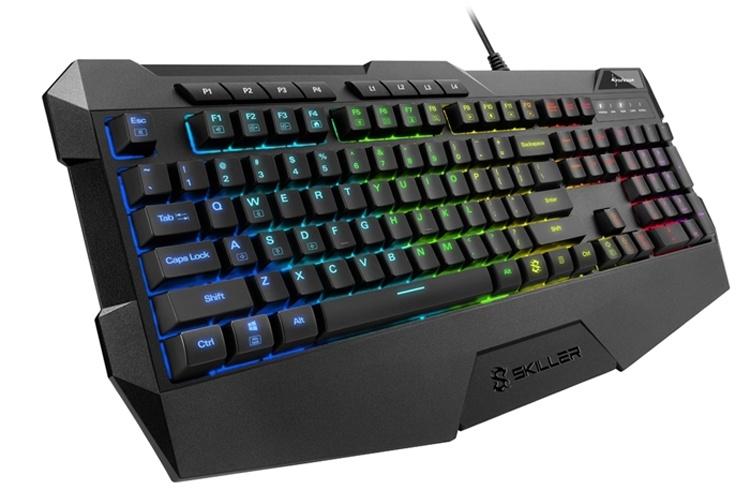 Sharkoon Skiller SGK4: игровая клавиатура с RGB-подсветкой