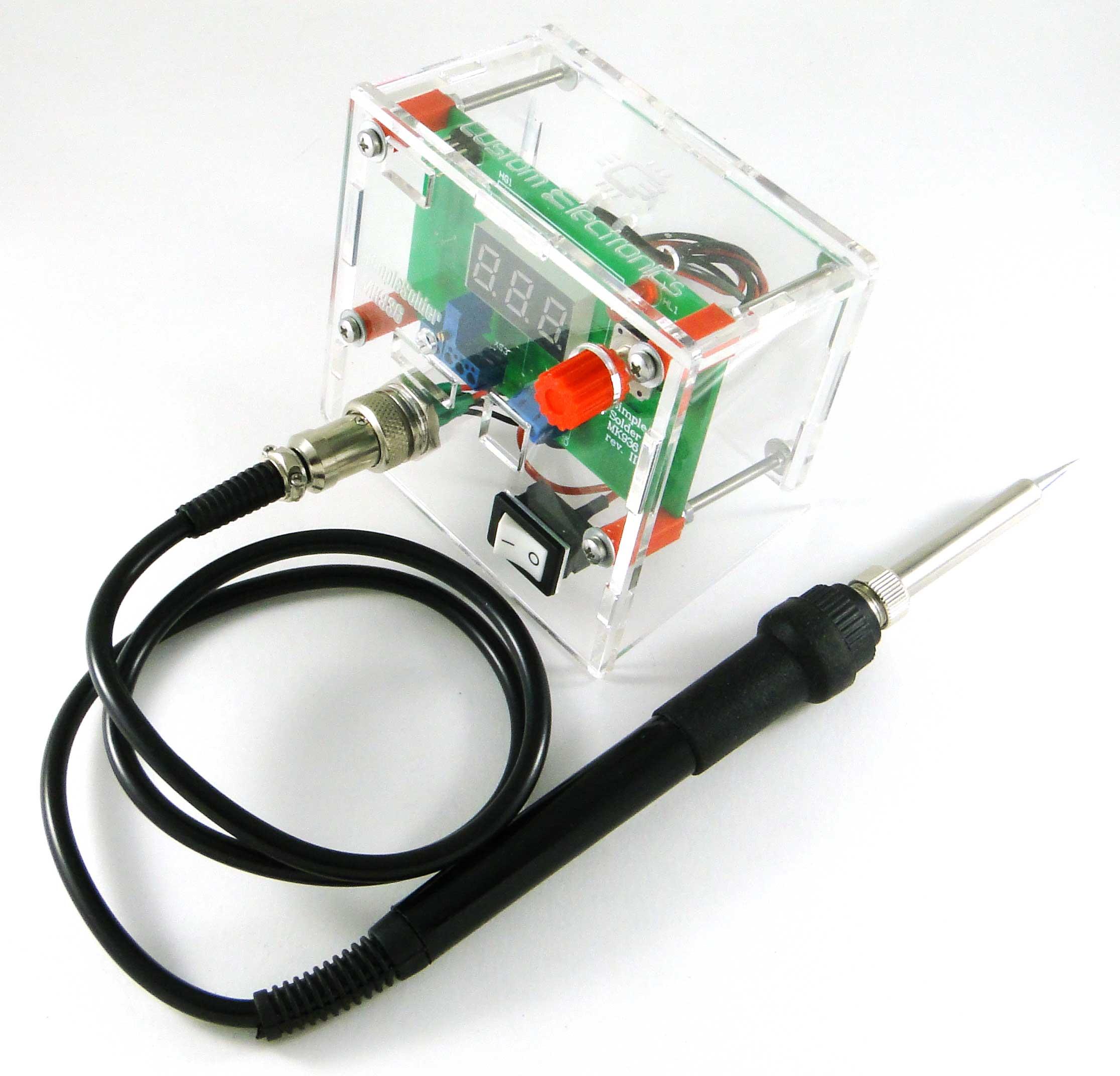 Simple Solder MK936 SMD. Паяльная станция на SMD-компонентах своими руками - 1