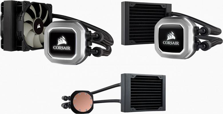 Компания Corsair обновила СЖО Hydro Series H75