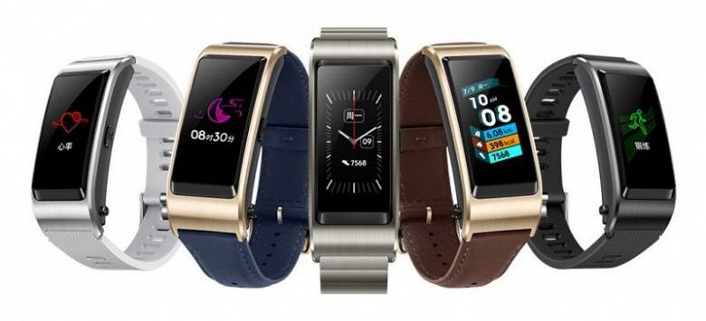 Гибридный трекер Huawei TalkBand B5 оценили в 150 долларов