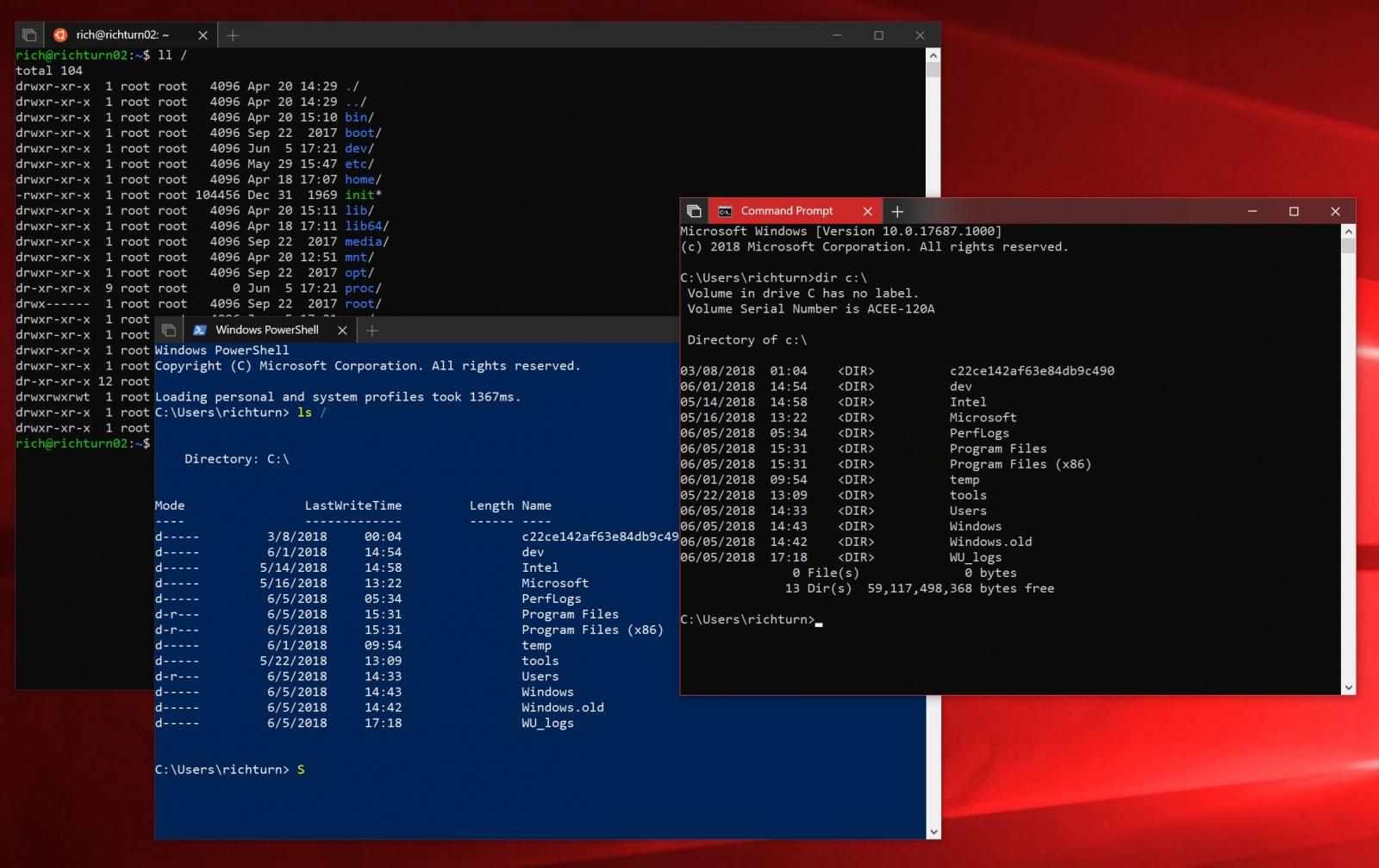 Тяжкое наследие прошлого. Проблемы командной строки Windows - 9