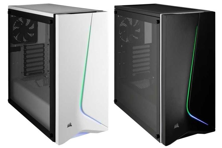 Corsair Carbide SPEC-06 RGB: ПК-корпус с асимметричным дизайном