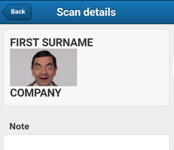Fake ID in app