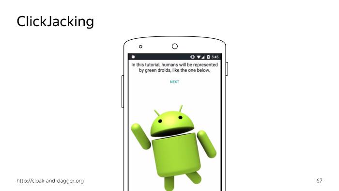 Android accessibility — волк в овечьей шкуре? Лекция Яндекса - 23