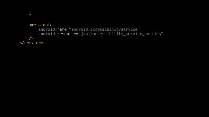 Android accessibility — волк в овечьей шкуре? Лекция Яндекса - 5
