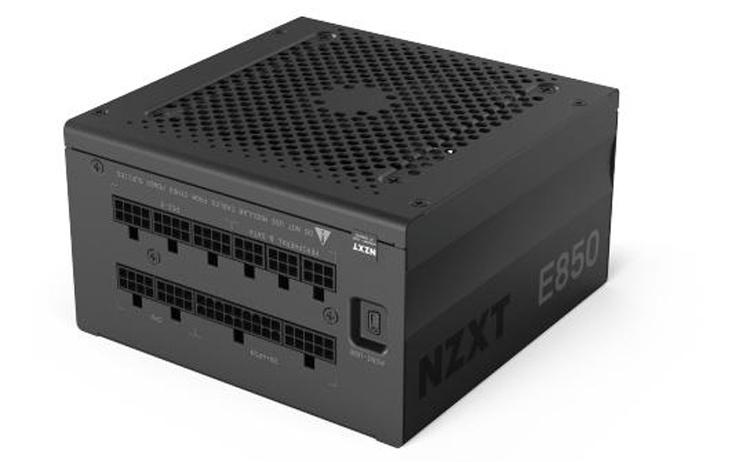 Мощность блоков питания NZXT E-Series достигает 850 Вт