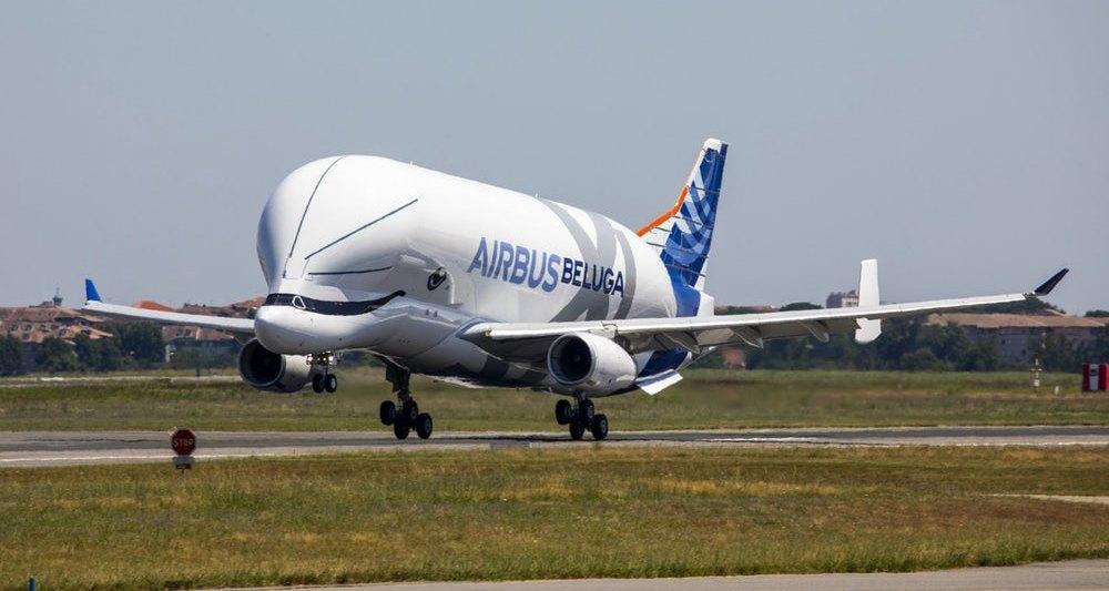 Самолет Airbus BelugaXL совершил первый полет