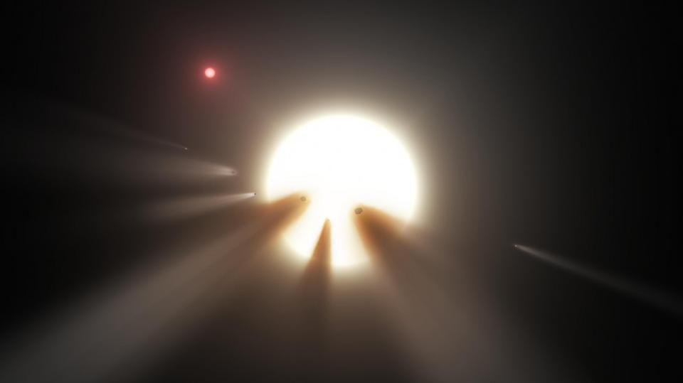 Забудьте о мегаструктурах инопланетян: новые наблюдения объясняют поведение звезды Табби одной только пылью - 12