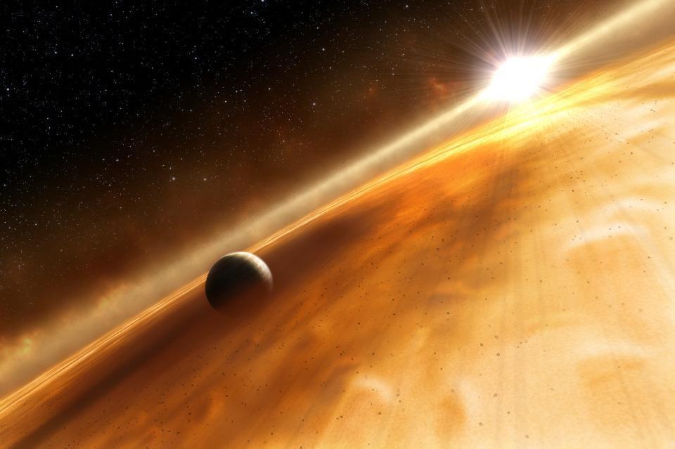 Забудьте о мегаструктурах инопланетян: новые наблюдения объясняют поведение звезды Табби одной только пылью - 13