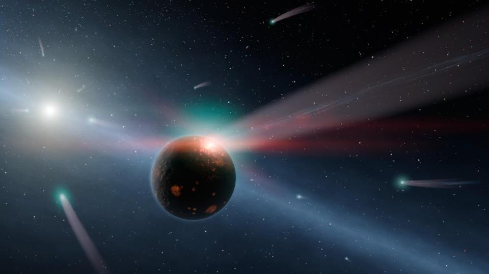 Забудьте о мегаструктурах инопланетян: новые наблюдения объясняют поведение звезды Табби одной только пылью - 6
