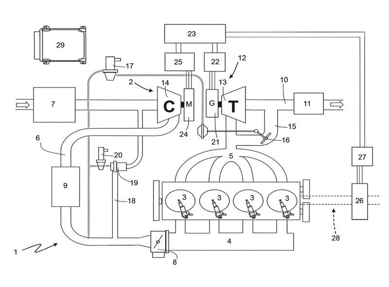 Ferrari запатентовала гибридный электронаддув - 2