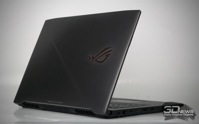 Новая статья: Обзор игрового ноутбука ASUS ROG Strix GL703GM: оптимальное решение