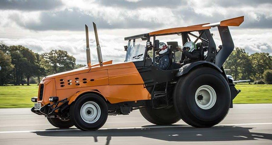 Самый быстрый трактор в мире