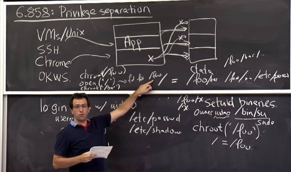 Курс MIT «Безопасность компьютерных систем». Лекция 4: «Разделение привилегий», часть 2 - 12