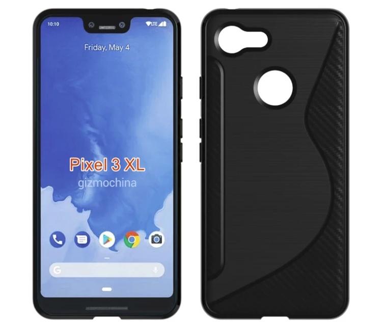 Будущий смартфон Google Pixel 3 XL показался в защитных чехлах