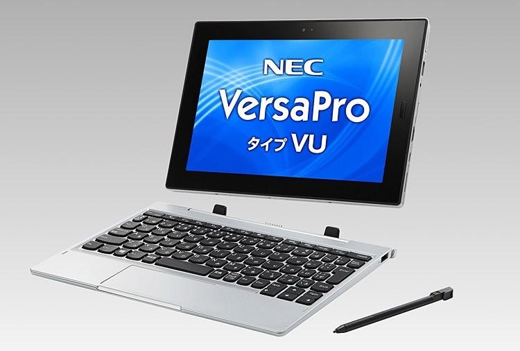 Планшет NEC VersaPro VU использует чип Intel Gemini Lake и ОС Windows 10
