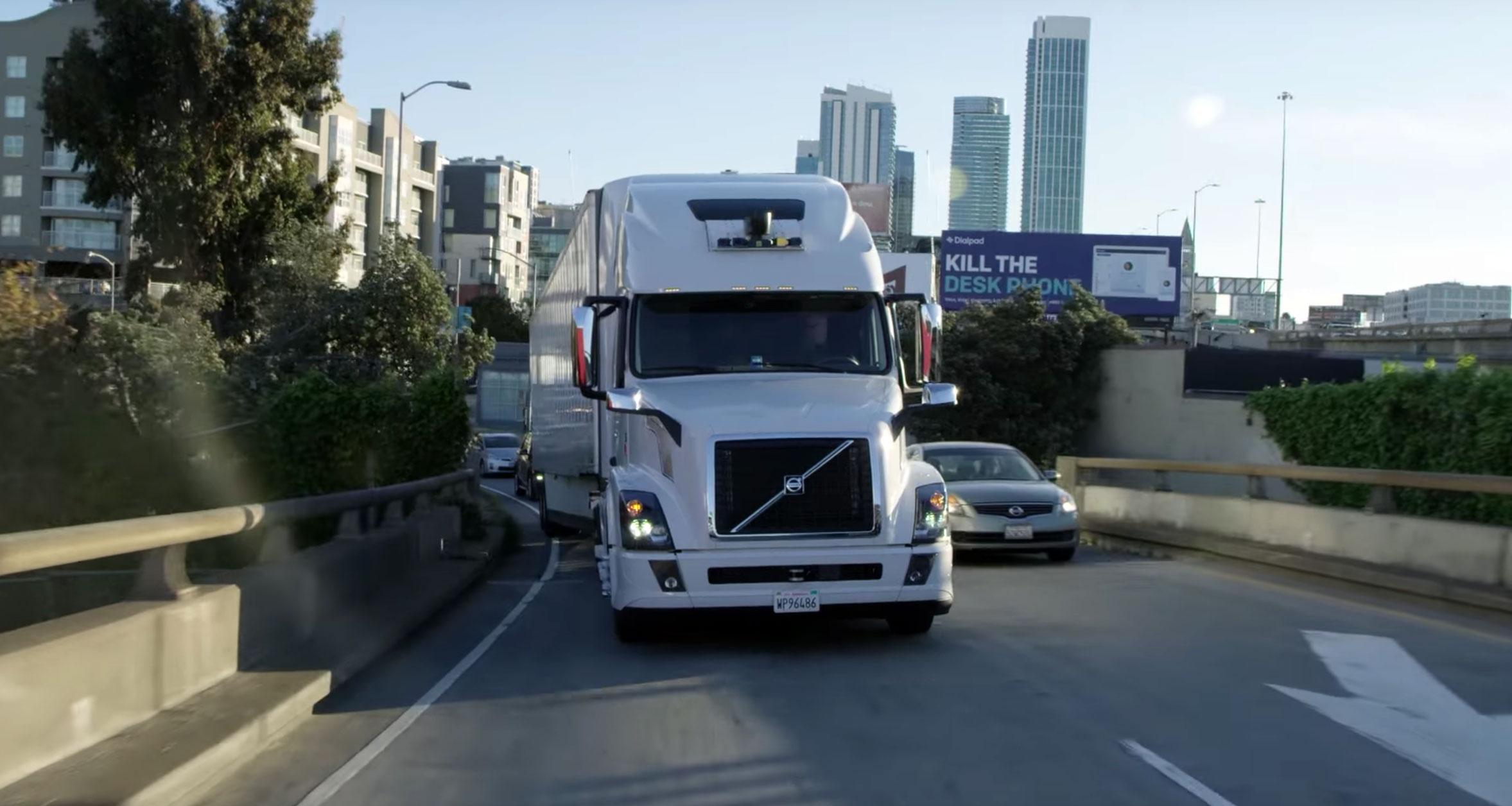 Uber прекращает разработку беспилотных грузовиков - 1
