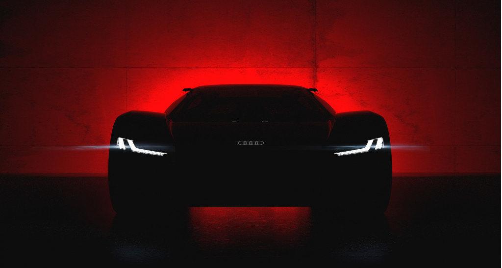 Электрический суперкар Audi: первый тизер