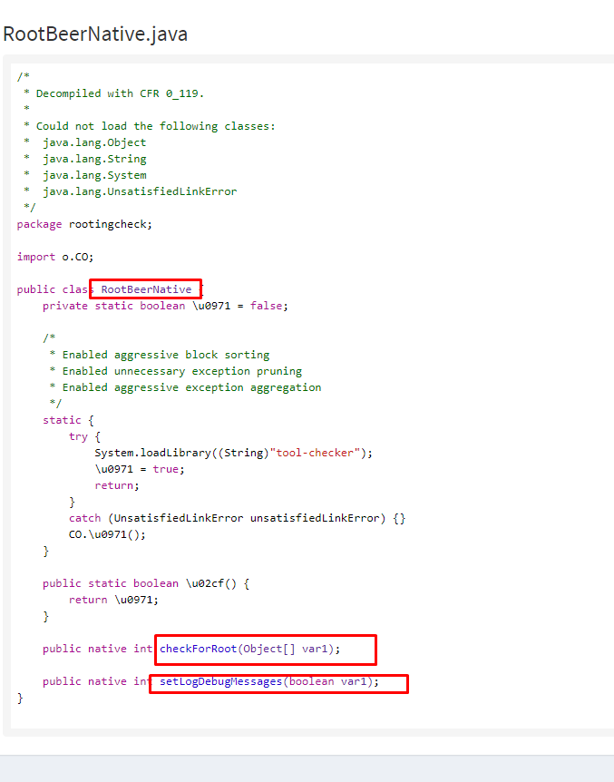 Отключение проверок состояния среды исполнения в Android-приложении - 3