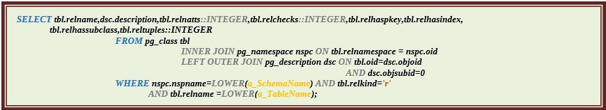 Функции для документирования баз данных PostgreSQL. Часть третья - 13