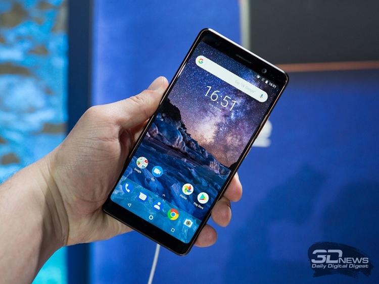 Спрос на смартфоны Nokia за год вырос девятикратно