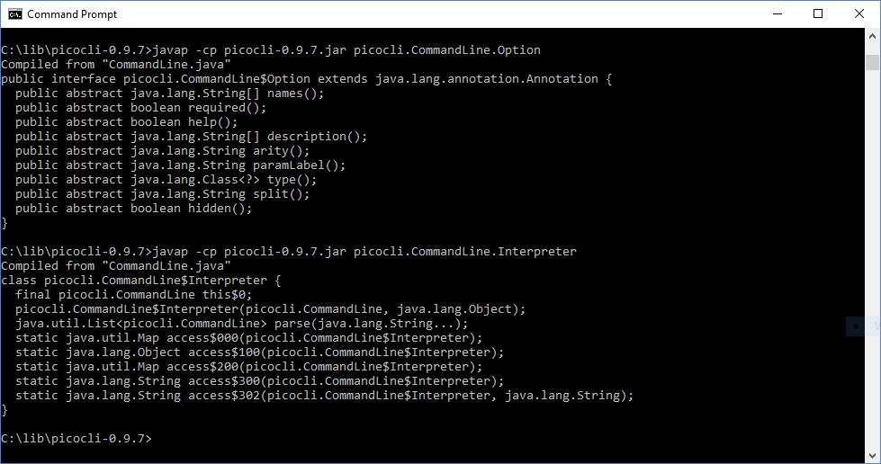 Интерфейсы командной строки Java: picocli - 3