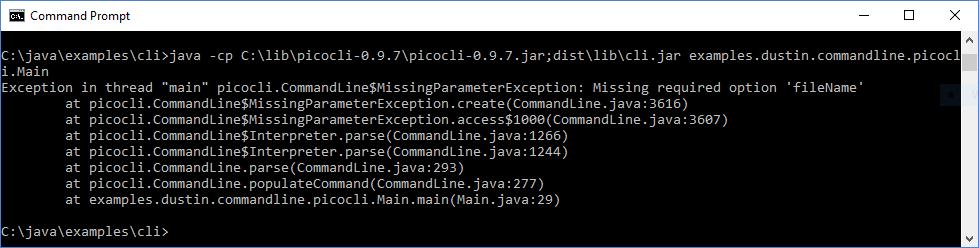 Интерфейсы командной строки Java: picocli - 4