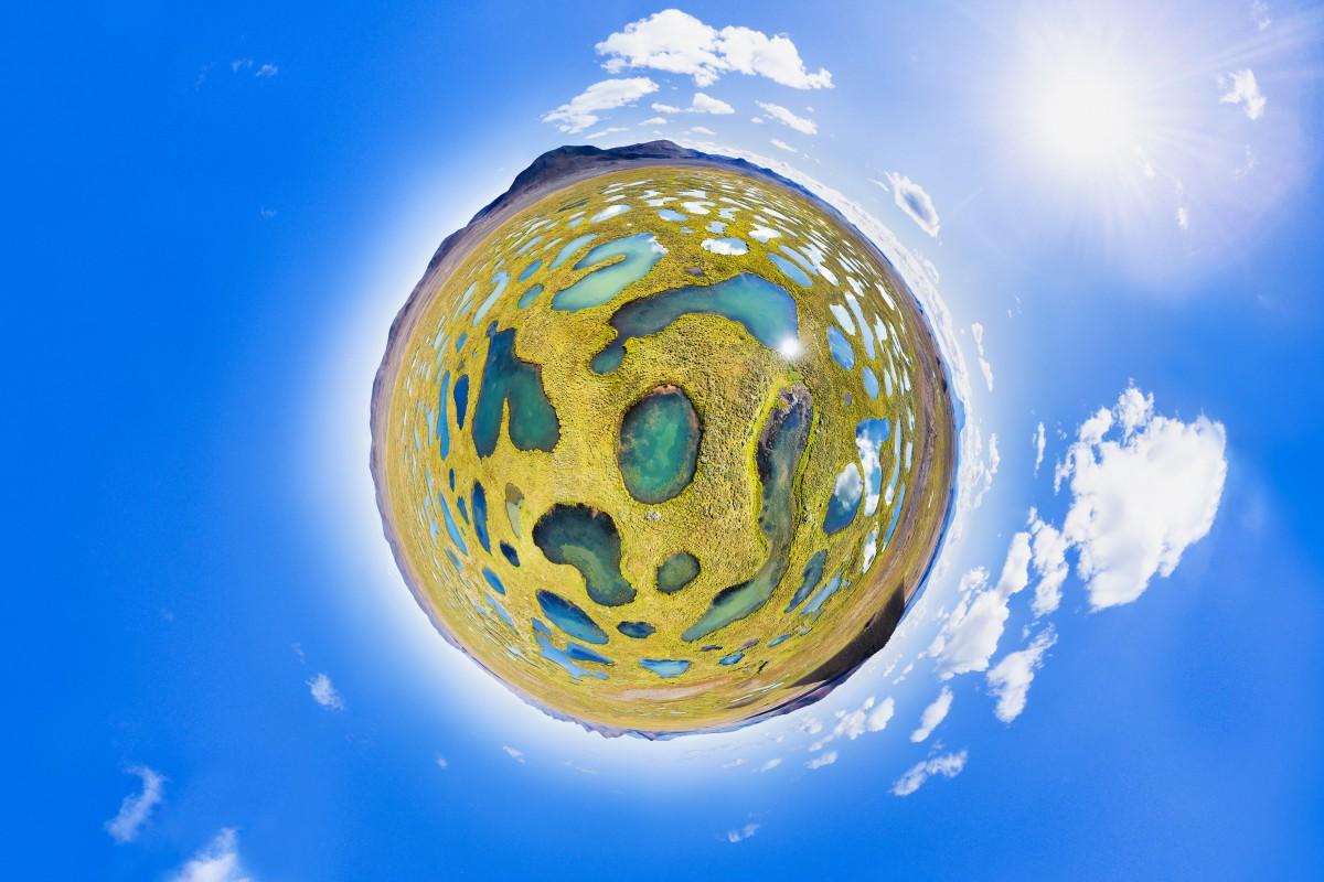 Как снять и «склеить» сферическую панораму на DJI Mavic Air - 1