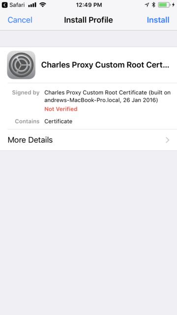 Как сниффить HTTPS-трафик iOS-устройства - 11