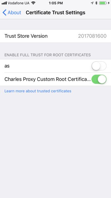 Как сниффить HTTPS-трафик iOS-устройства - 12
