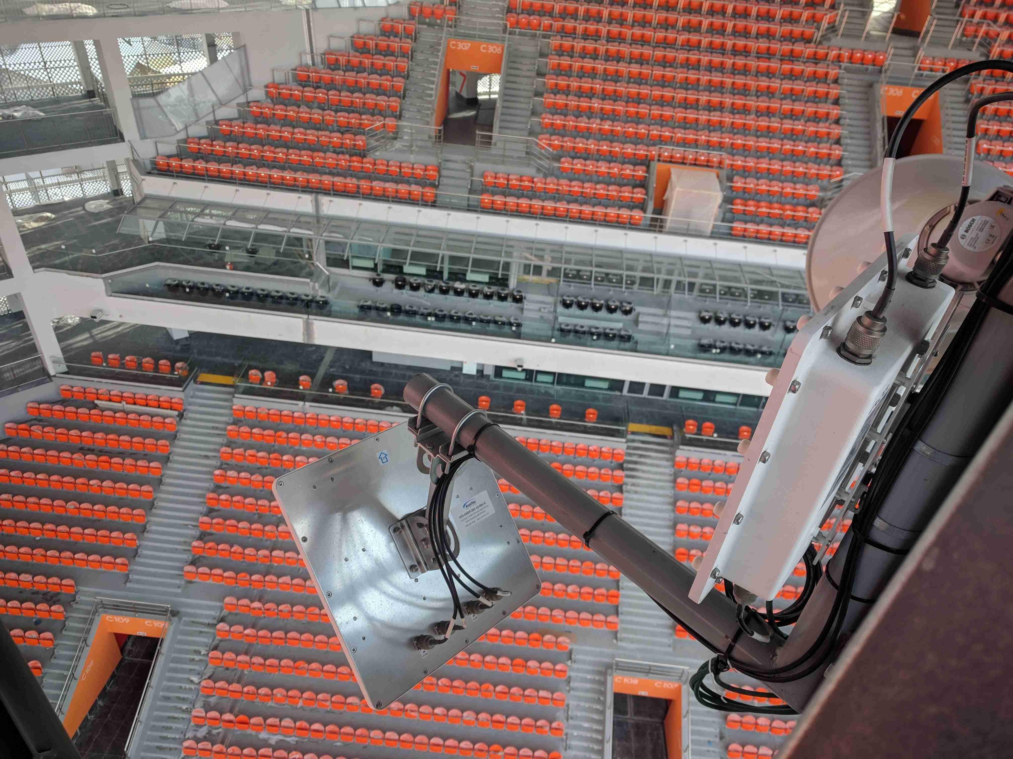 Телекоммуникации стадиона «Екатеринбург Арена»: 20 километров толстенного кабеля - 1