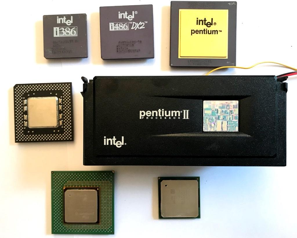 32-битные процессоры Intel: от 3 до 4 — Бесполезный пятничный лонгрид - 1