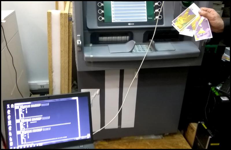 Низкоуровневый взлом банкоматов NCR - 18