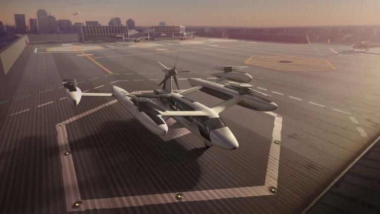 Uber привлекла к созданию воздушного такси Техасский университет и Пентагон