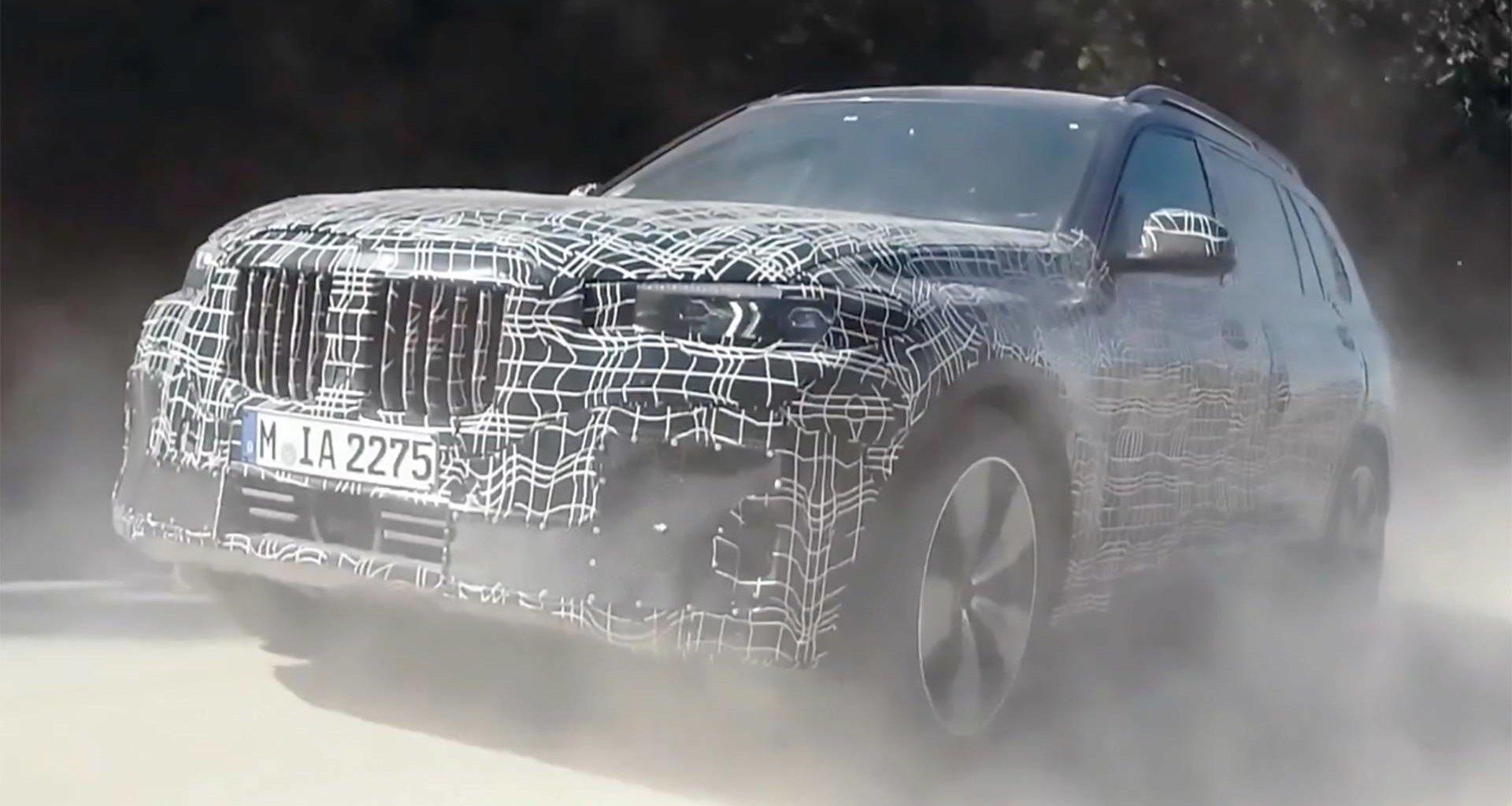 BMW показала кроссовер X7 в новом ролике