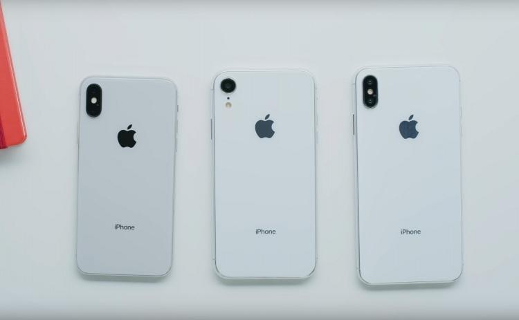 Видео: детальное знакомство с семейством iPhone 2018