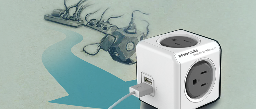 FidgetPen, странная лампа и кубики-разветвители: знакомимся с компанией Allocacoc - 4