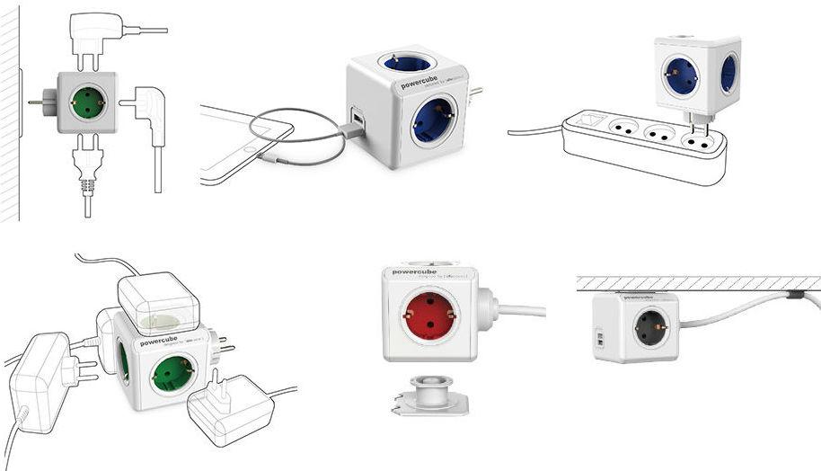 FidgetPen, странная лампа и кубики-разветвители: знакомимся с компанией Allocacoc - 8