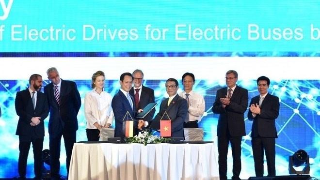 Технологии Siemens будут использоваться для производства электрических автобусов вьетнамской Vinfast