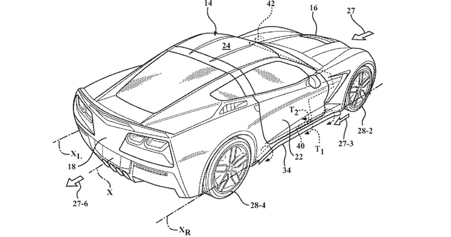 Chevrolet Corvette получит активную аэродинамику