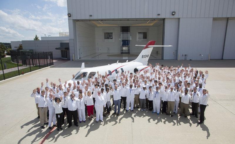 Honda поставила первый самолет HondaJet Elite