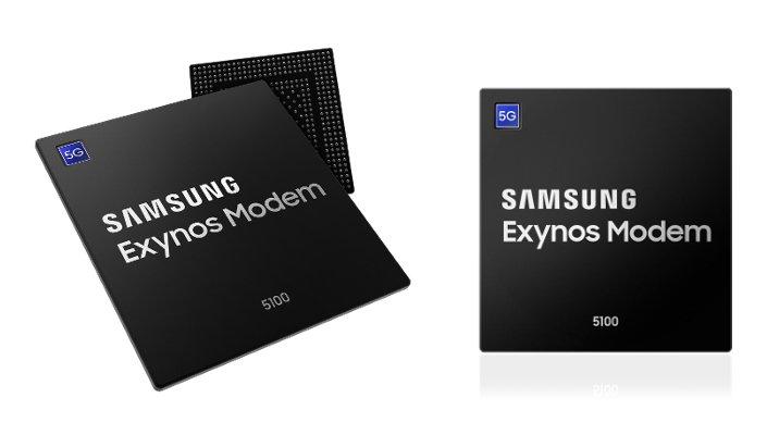 Samsung Exynos Modem 5100 — модем с поддержкой 5G и скоростью передачи данных до 6 Гбит/с