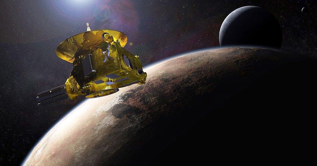 Водородная стена на краю Солнечной системы